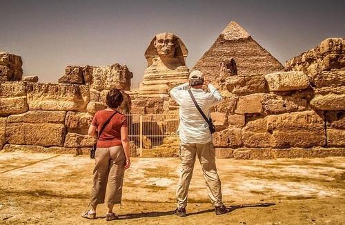 Den Store Sfinks & Giza Plateau