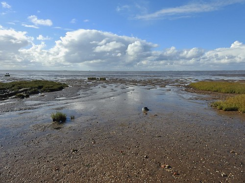 The Humber Estuary at Spurn Nature Reserve in East Yorkshire, England - October 2016