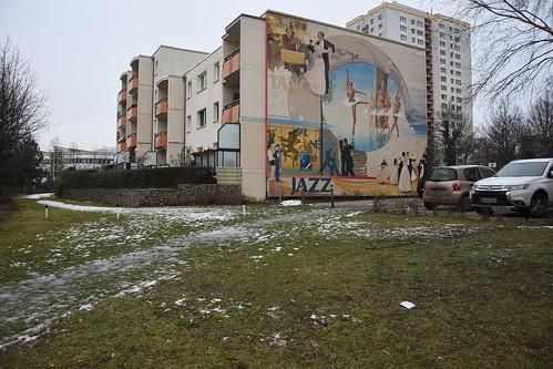 in Marzahn, DDR