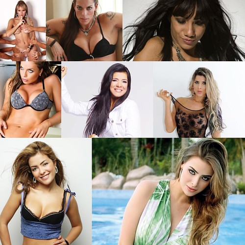 Possível time feminino de #AFazenda Thalita Zampirolli, Rebeca Gusmão, Quelynah, Rayanne Morais, Mara Maravilha, Ana Paula Minerato, Li Martins e Veridiana Freitas. #OBuxixo
