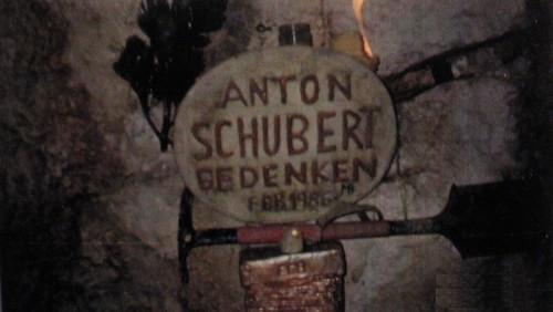 1986Steiermark3v9 Schuberthöhle Gesäuse Ödstein Schubert Anton Gedenken