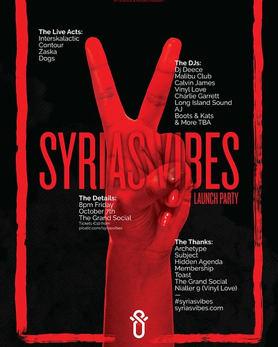 Syrias Vibes launch party