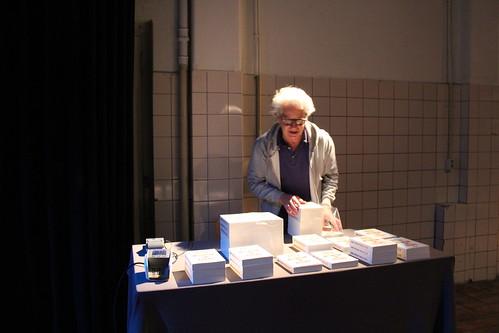 Tele Drumming live at Theater Perdu Amsterdam 10 12 16