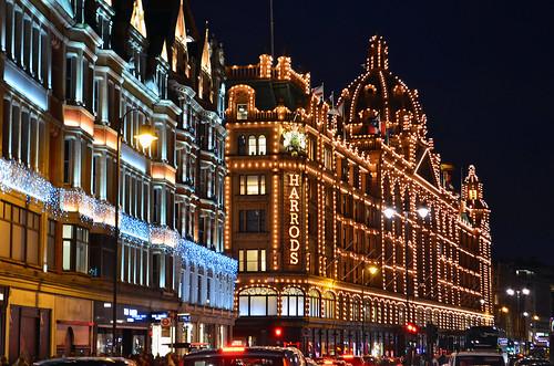 LONDON / LONDRES, Harrods Navidad (28/11/2015)