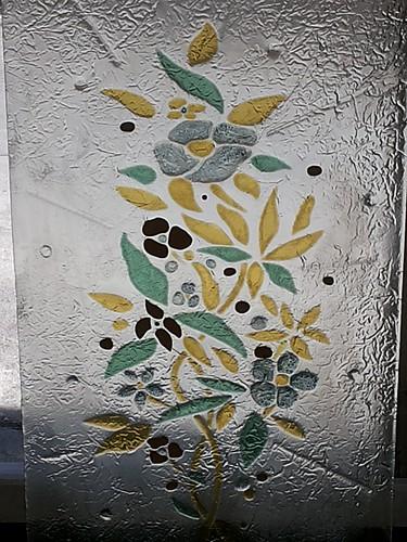 Vetrate per porte vetrofusione floreale di Vincenzo Greco (1)