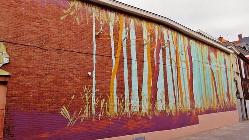 Gdansk School of Murals / Jan Palfijnstraat - 30 okt 2015