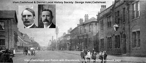 George Hotel,Cadishead. OVERCHARGE FOR STOUT, LANDLADY AND BARMAID FINED 1920