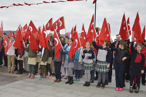 Cumhuriyet Bayramı Törenlerle Kutlandı (7)