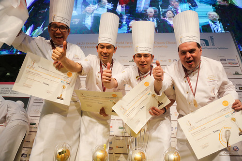 DAY 2 - The World Trophy of Pastry, Ice Cream and Chocolate FIPGC 2015