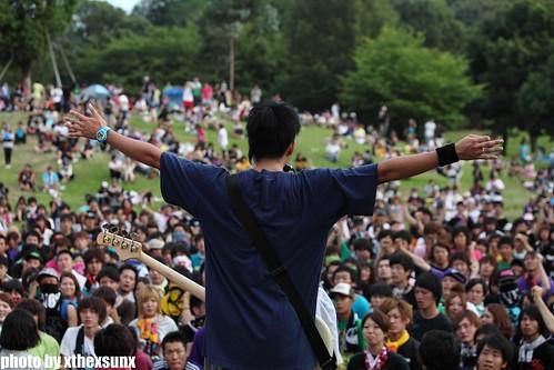 BACK LIFT2@ODAKA RYOKUCHI, NAGOYA(2011.07.24)
