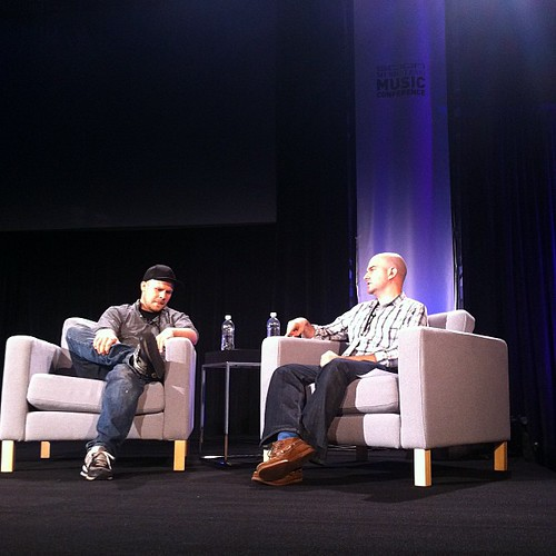 XXXChange interviewed by Eric Ducker at the Scion Music(less) Music Conference #ScionMMC