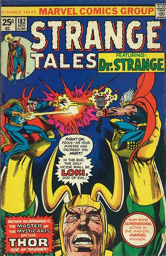 Strange Tales #182