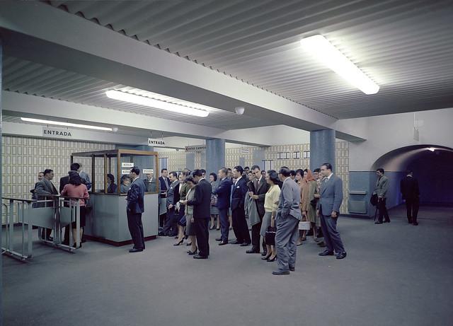 Metropolitano de Lisboa, Campo Pequeno (h. Novais, 1959)