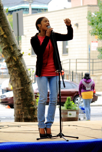 Keisha_doing what God called her to do.