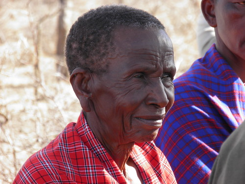 Maasai Woman in a FCBH Listening Group