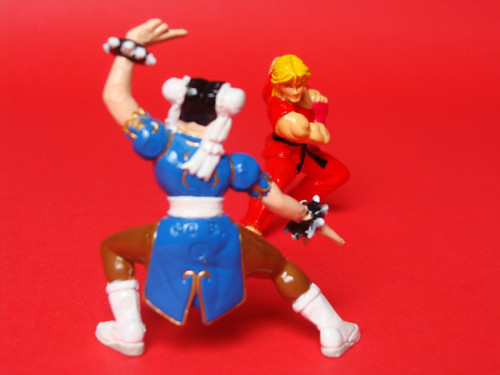 Ken vs Chun Li