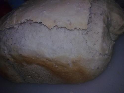 Pão semi-integral com sementes