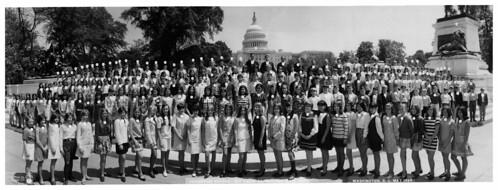 1969 - Adamsville 8th Grade Trip to Washington DC - ID