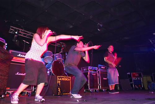 Nachorte, Jordy y Suka en concierto