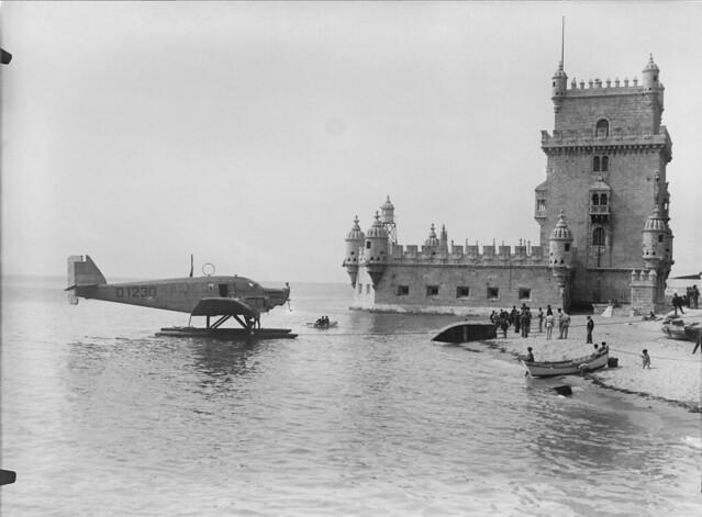 Junkers D-1230, Praia do Bom Sucesso(Mário de Novais, 1927)
