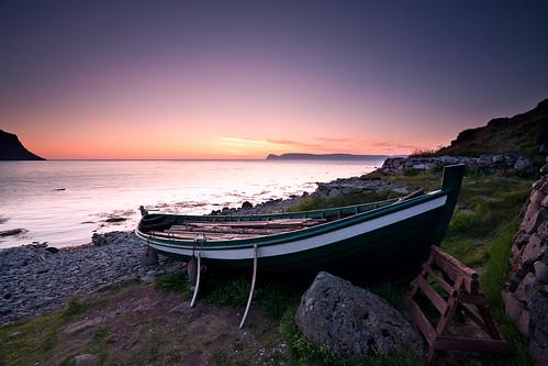 The rowboat Ölver - Bolungarvík - Iceland