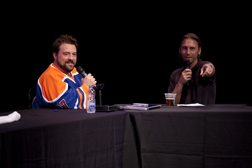 Kevin Smith and Scott Mosier at the Just For Laughs Festival