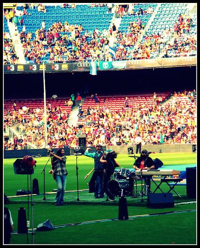 La Banda del Yuyu al Camp Nou - Celebració de la Champions League 2011