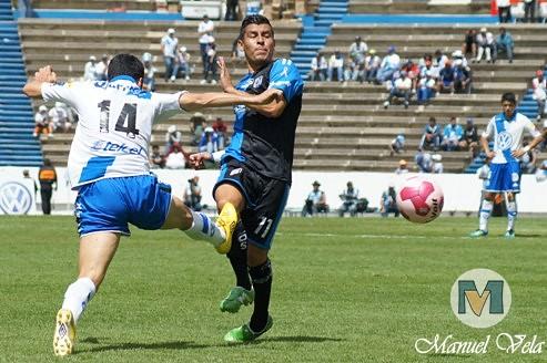 DSC00709 En dramático partido Puebla FC vence 1-0 a Querétaro estadio Cuauhtémoc por LAE Manuel Vela