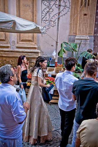 Palermo, al mercato del capo