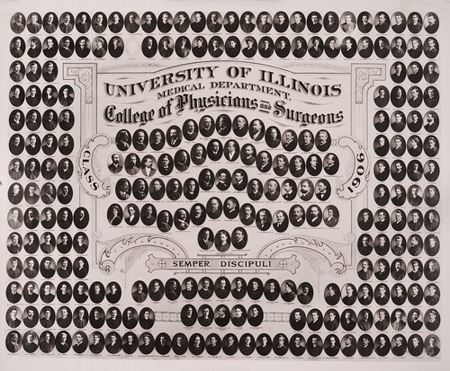 1906 graduating class, University of Illinois Medical Department College of Physicians & Surgeons