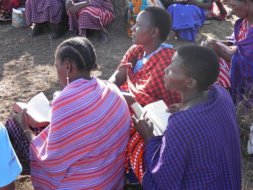 FCBH Maasai Listening Group