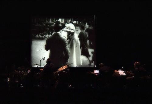 Pelicula muda i musica - Silent film and music ( Al Festival de Jazz amb en Nil i L´Aram )