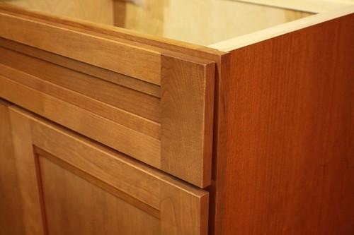 about Kraftmaid Cinnamon Cherry Kitchen  Vanity Sink Base Cabinet