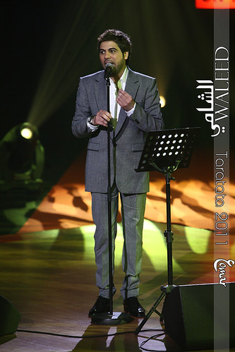 Waleed al-Shami in [ Taratata 2011 ] (2)