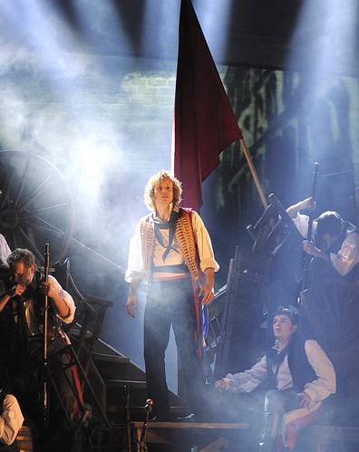 Les MisŽrables by Cameron Mackintosh, opening night November 28