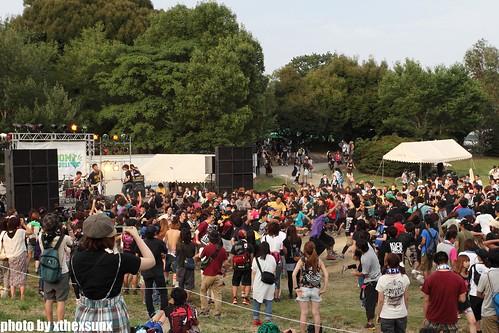 BACK LIFT4@ODAKA RYOKUCHI, NAGOYA(2011.07.24)