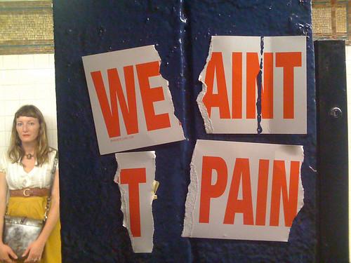 Wet Paint --> We Ain't T Pain