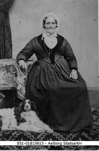 Yndlingsfoto #7 Jacobine Hollenius i 1856