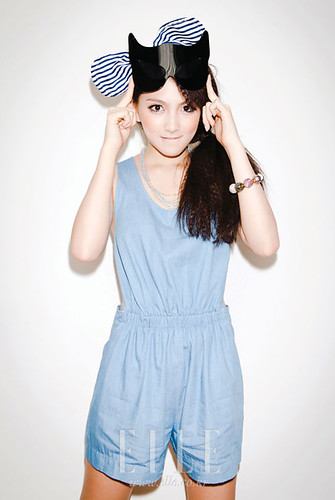 FASHION ID: Elle Girl Korea Magazine - Kang Jiyoung (강지영) of Kara (카라)