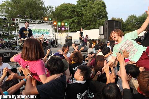 BACK LIFT6@ODAKA RYOKUCHI, NAGOYA(2011.07.24)