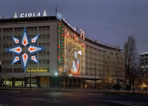 Iluminações de Natal, Lisboa, 1971