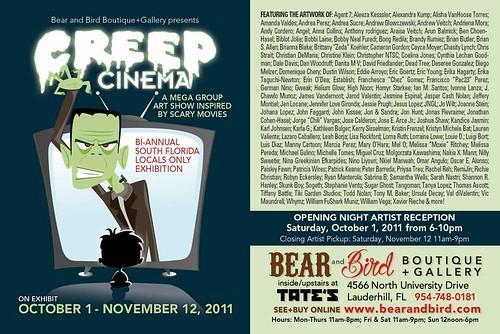 Creep Cinema Flyer!