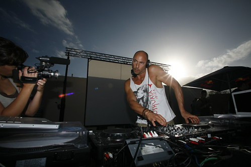 DJ Iban Reus playing the best tech house in ibiza.