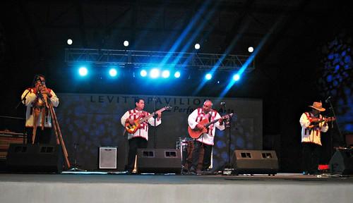 Wayanay Inka at L evitt Pavilion in Arlington, Texas (see video)