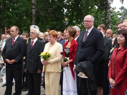 Jaakko Kuusela, Pentti Arajärvi, Tarja Halonen, Anu Rajajärvi, Eero Heinäluoma ja Merja Kuusisto.