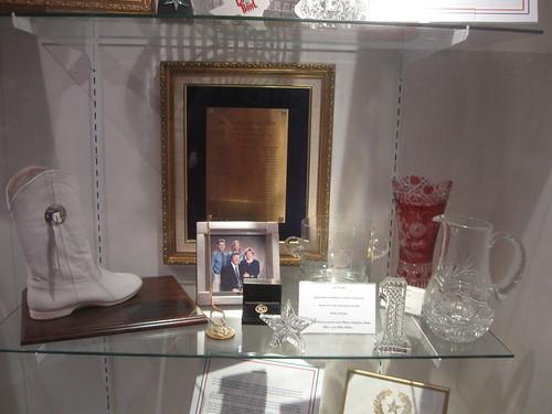 Exhibit at Rangerettes Museum