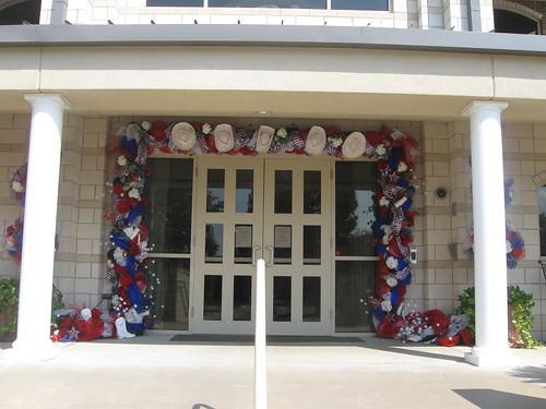 Front door entrance of Rangerette Residence