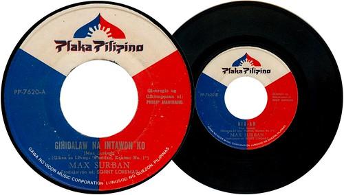 Gihidlaw Na Intawon Ako / Hia-an (45 rpm) - Max Surban