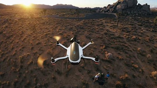 Range is not an issue with the GoPro Karma