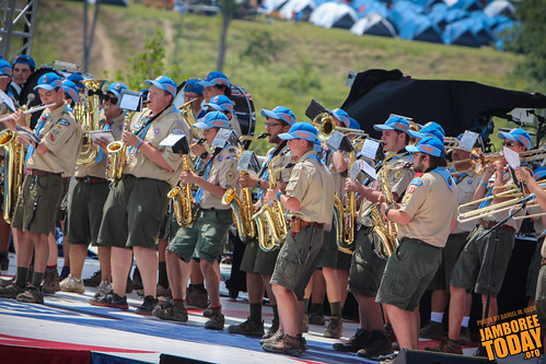 National Scout Jamboree Band is Jazzed